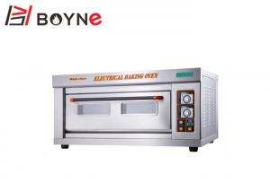 China Stainless Steel Industrial Cake Oven Single Deck Mechanical Timer Digital Temperature Controller on sale