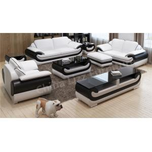China Modern office sofa set leather office sofa furniture with wooden frame on sale
