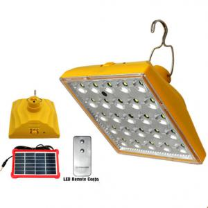 China New solar remote control lamp  camping light multifunction emergency light on sale