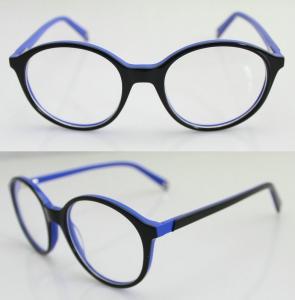 China Lightweight Fashion Eyeglasses Frames, Handmade Acetate Eyewear Frame For Men on sale