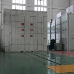 China Q26 Sand Blasting Room on sale