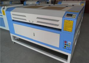 China 1610   Fabric CO2 Laser Engraving  Machine ± 0.01mm Repeatability on sale