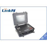 1 Channel HDMI COFDM Receiver , Briefcase wireless video receiver IP65 GPS Commander