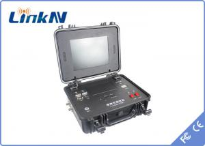 China 1 Channel HDMI COFDM Receiver , Briefcase wireless video receiver IP65 GPS Commander on sale