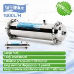 WellBlue Household UF Kitchen Water Filter 1000L/H Stainless Steel Shell