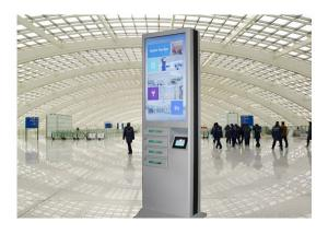 China Large Panel Multi Cell Phone Charging Stations With Dual Screen Charging Box Machine on sale