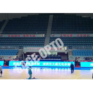 China Fast Shipping Full Color Indoor P4 Stadium LED Display SAGEOPTO Delivery 1R1G1B Basketball LED Display on sale