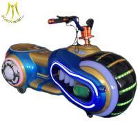 Hansel attractive amusement park children game battery operated walking ride on motorbike