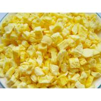 China Nutritious Freeze Dried Fruit , Freeze Dried PineappleRaw Fruit Flavour on sale