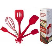 non-stick silicone kitchen tools in Red