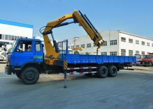 China Mini Mobile Knuckle Boom Truck Mounted Crane 5.8 m Working Radius on sale