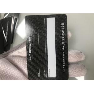 0.8-1.1mm Metal RFID Card Programmable Read Writable Rfid Card High Glossy