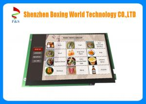 China Android 4.4 TFT LCD Touch Screen , 10.1inch Self Order Kiosk TFT Display Screen on sale