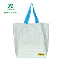 Manufacture heavy duty canvas customized shopping bag fashion shoulder bag 100% canvas spot pattern cotton bag