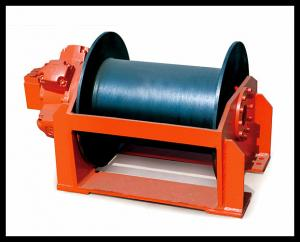 China custom built hydraulic powered dredger winch on sale
