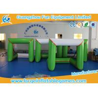 3*1.5*1.5M 0.6mm PVC Inflatable Sport Games Inflatable Soccer Gate Green White