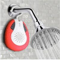 China BTS-19 Waterproof Bluetooth music Shower Speaker with Mic FM Radio Handsfree on sale