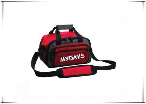 China Waterproof Red Surf Fishing Tackle Bag 600D Polyester 11 X 6 X 4.5 Inches on sale