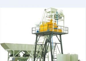 China Mini HZS25 Concrete Truck Mixer Concrete Mixing Equipment JS500 Mixer 2x9.25kW on sale