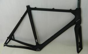 Quality Carbon Cyclocross Frame with BSA / BB30 / PF30 / BB86 / BB386 Bottom Bracket HT for sale