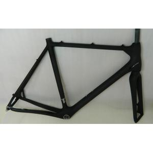 Quality Carbon Cyclocross Frame with BSA / BB30 / PF30 / BB86 / BB386 Bottom Bracket HT-FM286 for sale