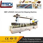 pvc external door frame Profiles wrapping machine with good price