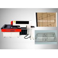 China Paper Laser Die Cutting Machine 900×900mm With Cnc Professional Control System on sale