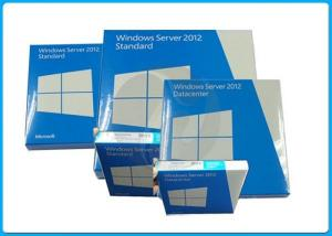 China Microsoft Windows Server 2012 Standard/sever2012 datacenter 64-Bit 2cpu/2vm OEM License on sale