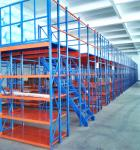 Hight quality heavy duty pallet racks supported mezzanines floors warehouse multi-level attic shelf