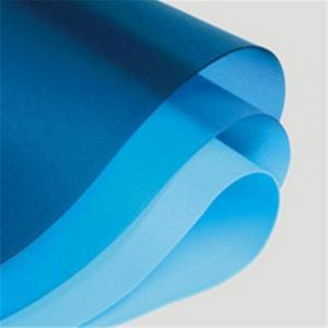 China Blue on clear polyvinyl pvb film for safety glass in building or automotive glass on sale