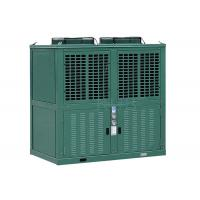 R404a Low Temperature Commercial Refrigeration Condensing Units Green Color 10 Horsepower