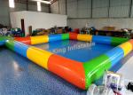0.65mm PVC Tarpaulin Inflatable Swimming Pools For Kids And Adults Outdoor Use