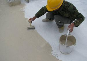 China JS Polyurethane Cement Based Waterproofing Paint slurry For Wet Floors / Kitchen / Bathroo on sale
