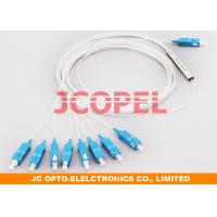 Combined type Fibra Optical Splitter 1 in 8 out  PLC SC / UPC Connector