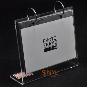 China La photo acrylique faite sur commande durable de cadres de tableau encadre l'impression de logo on sale