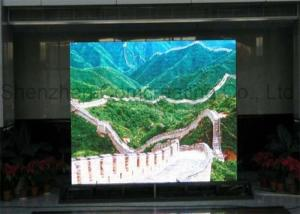 China Hanging wireless LED wall display / LED advertising screen IP20 160mmx160mm on sale