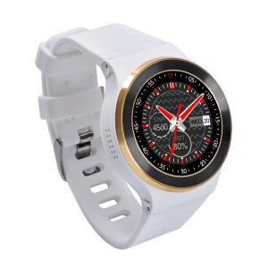 Quality Android 3G Smart Wrist Watches With Pedometer / Heart Rate Function , Single Sim for sale