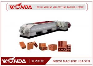 China Fired Mud Solid Brick Double Shaft Mixer , Red Clay Mixing Machine Long Lifespan on sale