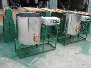 China China Large capacity electrical wax melter /candle melting machine on sale