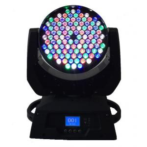 China Dmx 108 X 3W LED Moving Head Light  / Stage Wash Lighting High Power on sale