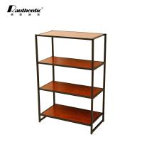 China Professional Desktop Computer Desk Side End Snack Tray Tables Simple Style 4l Shelf on sale