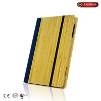 Book Style Eco-friendly Genuine Natural Bamboo Cover Case For Ipad Air