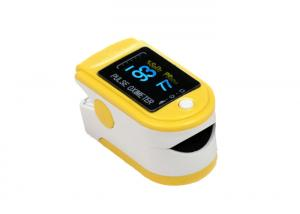 China High Accurate Automatic Finger Pulse Oximeter , Baby Fingertip Blood Oxygen Meter on sale