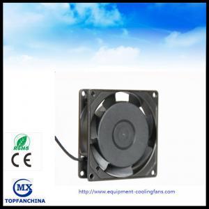 China Ball Bearing 2500RPM EC Axial Fan Equipment Cooling Fans AC 12V - 27.6V on sale