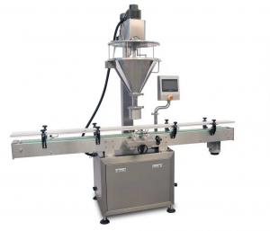 China Protein pepper Milk powder Auger filler Automatic filling machine packaging machine on sale