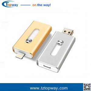 China OTG usb flash drive for IPhone 6 6Plus 5 5S 5C ipad ipod memory stock 8g supplier
