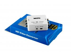 China White Mini 3.58 NTSC PAL Converter Format , Stock ntsc to usb converter on sale