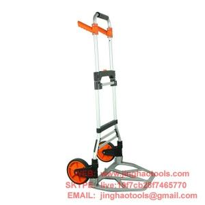 China JHH-Ht8216 steel tall heavy folding hand truck on sale