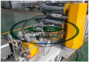 China dry- free energy saving ABA three layer  PET plastic Sheet twin screw extruder machine on sale