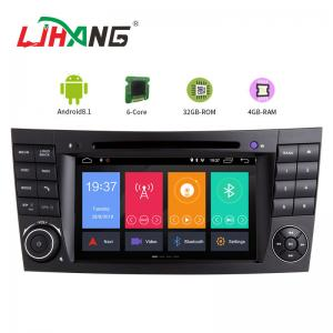 China AM FM Steering Wheel Control Mercedes Dvd Player , HD Mercedes E Class Dvd Player on sale